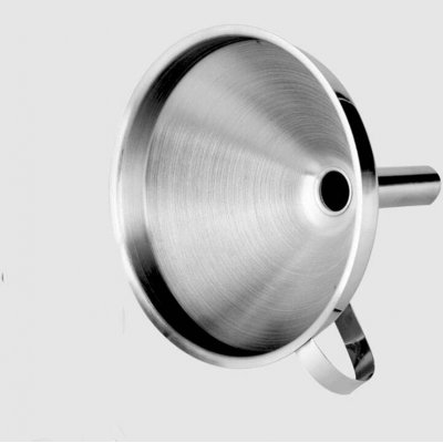 Stainless Steel Funnel  With Removable Filter