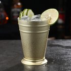 Stainless Steel Mule Mug Metal Cocktail Cup for Bar Party KTV Supplies Gold