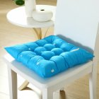 Stars Moon Printing Chair Cushion Seat Pad with Cotton Filling 40X40CM sky blue