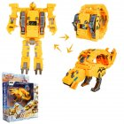 Steel Dragon Robot Electronic Watch Toys For Children Athlon (yellow)