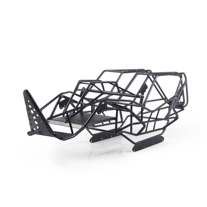 Steel Roll Cage Frame Body Black Steel Frame Body Chassis For Axial With RCX10 1/10 RC Rock Car Crawler Climbing Truck Parts black