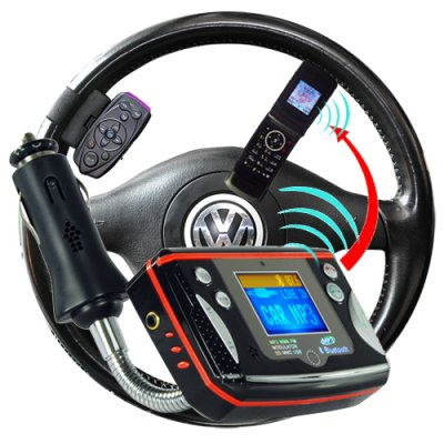 Bluetooth Car Kit with MP3