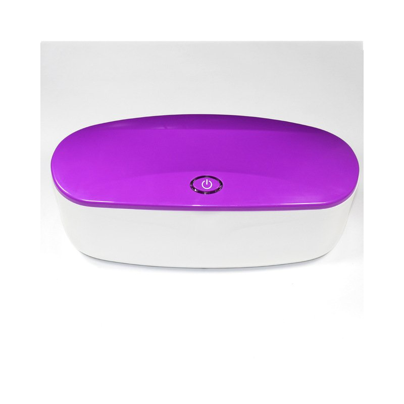 Sterilizer for Manicure Instruments Disinfection Esterilizador Manicure UV LED Disinfector Box purple