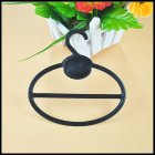 Storage Rack Hanging Hook for Scarf Tie Wardrobe Organize black