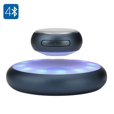 Levitating Bluetooth Speaker (Grey)