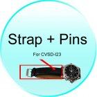Strap   Pins for CVSD I23 Secret Agent DVR Watch   Classic Design