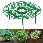 Strawberry Supports Plant Support with 3 Sturdy Legs for Mold Rot Dirt Gardening green