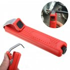 Stripping Pliers Rubber Cable Crimping Tool 8-28mm red