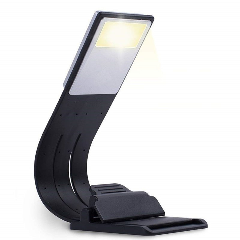 Stylish USB Charging Dimming LED Lamp for Reading Updated Version Three color temperature + magnetic clip + blister