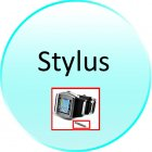 Stylus for CVLE M90 Terminal   Quad Band Touch Screen Watch Cell Phone