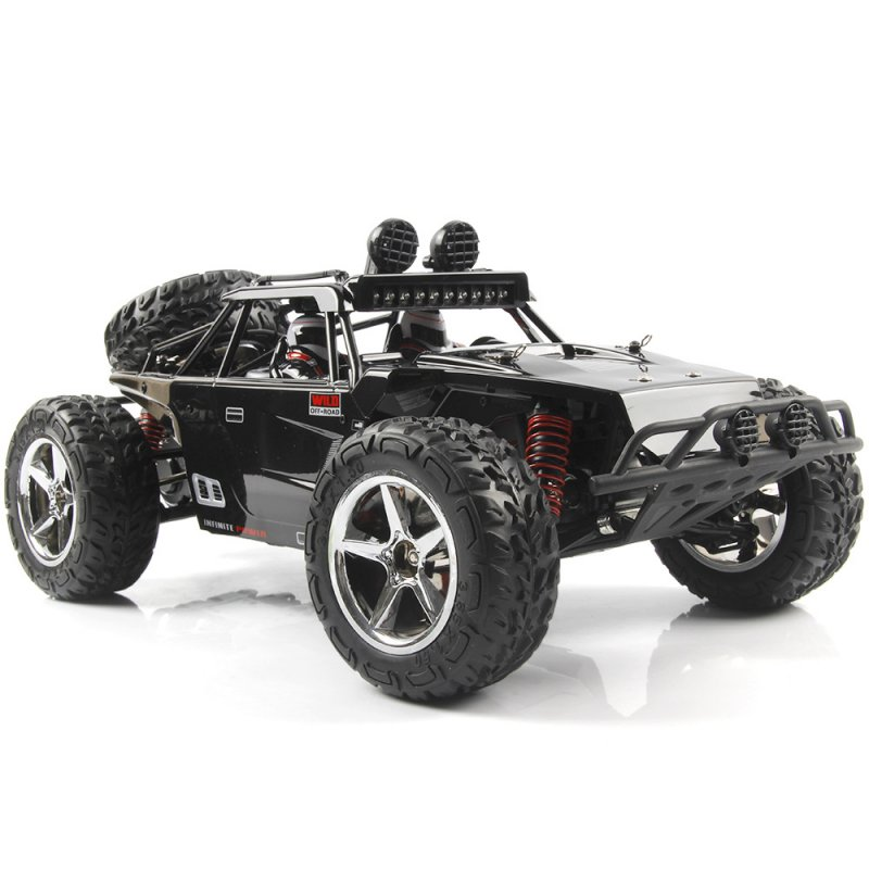 Subotech BG1513 2.4G 1/12 4WD RTR High Speed RC Off-road Vehicle Car Remote Control Car With LED Light black