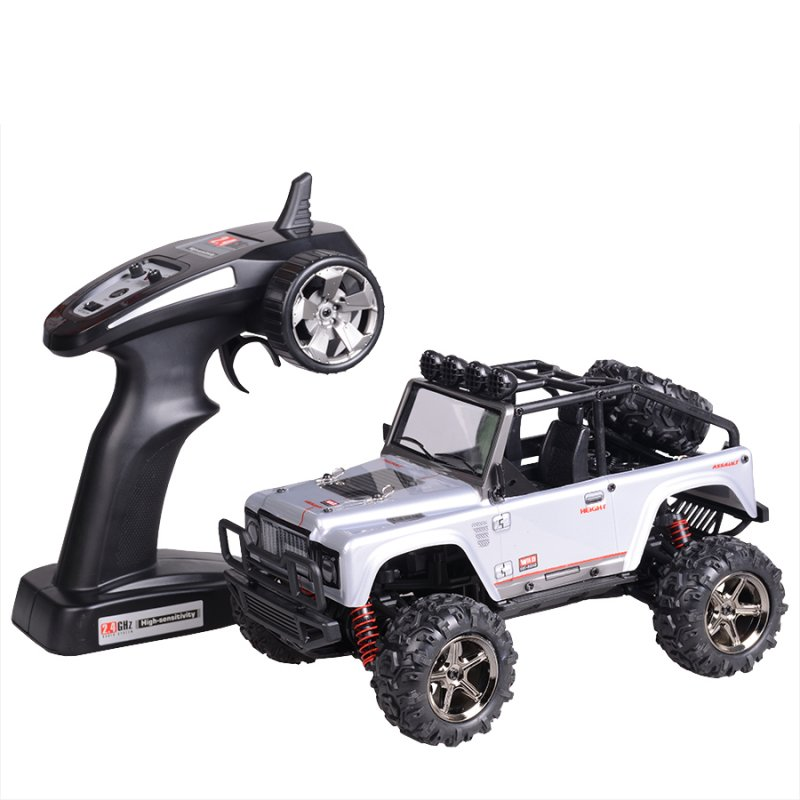 Subotech Brave 1/22 2.4G 4WD RC Desert Buggy RC Car SUV NO.BG1511 45km/h silver