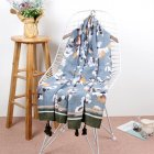 Summer Beach Scarf Double-Use Travelling Photograph Long Scarves for Women