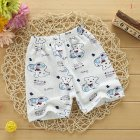 Summer Boys Girls Soft Cotton Shorts Casual Cute Printing Pants for Kids