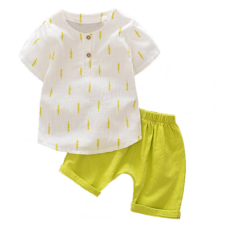 Boys T-Shirt Top+Short Pant Suit Clothes
