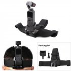 Sunnylife for GoPro Head Strap Headband Mount Holder with Adapter for DJI OSMO Pocket Camera  black