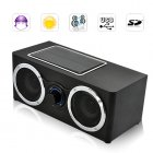 Super Boom Speaker with Solar Power   Charger   MP3 Player