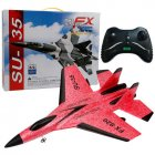Super Cool RC Fight Fixed Wing RC Drone FX 820 2 4G Remote Control Aircraft Model RC Helicopter Drone Quadcopter Hi USB 3C red