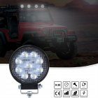 Super Slim Round Spotlight Beam Led Work Light Driving Fog Lights 6000K