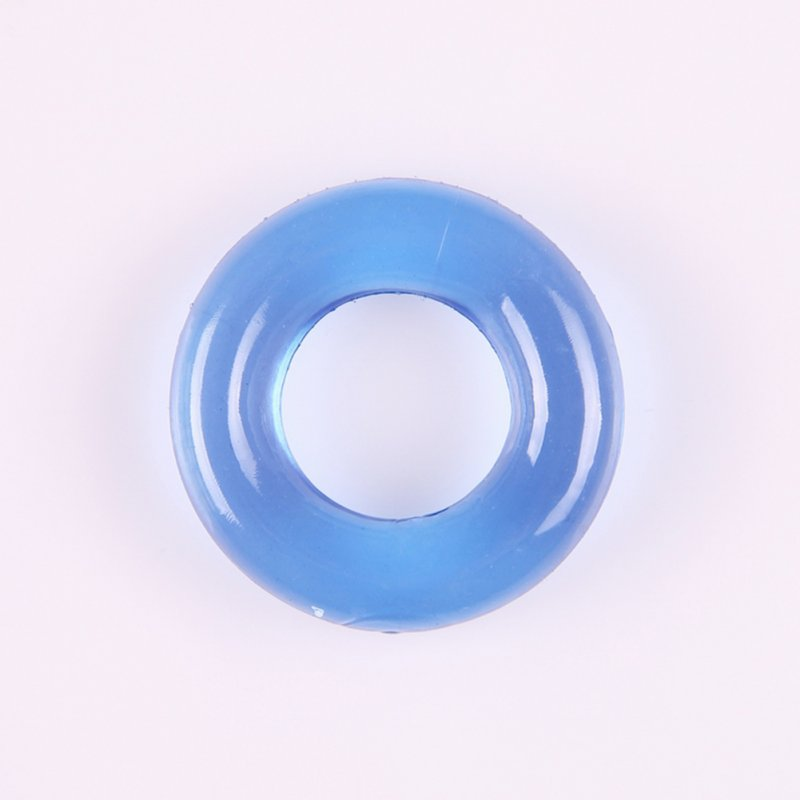 Super Stretchy Penis Ring Time Delay Donut Cock Sex Rings Erection Enhancer Sex Toys for Men 1.9*3.7cm