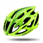 Superlight Breathable Cycling Safety Hat MTB Road Bicycle Helmets  Fluorescent yellow_M/L (58-62CM)