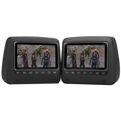 Headrest DVD Player Set