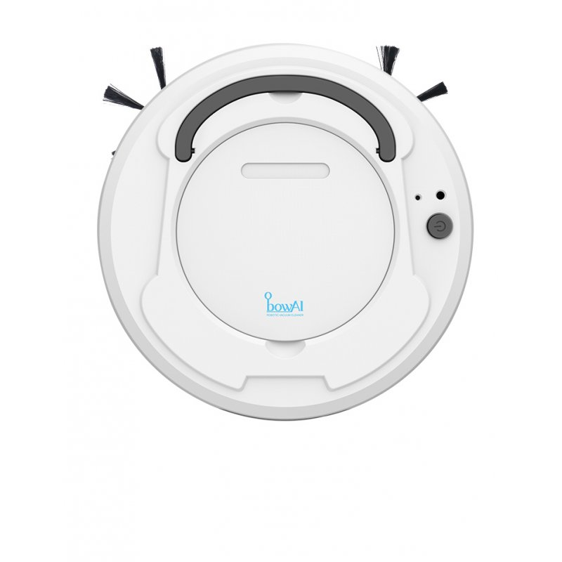 Sweeping Vacuum Cleaner Smart Robot Floor Cleaner 3-In-1 Auto Rechargeable Smart Floor Clean Machine 03 suction sweep white