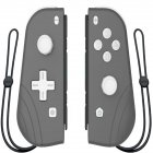Switch Joy Con Wireless Gaming NS (L/R) Controllers Bluetooth Gamepad Dark gray