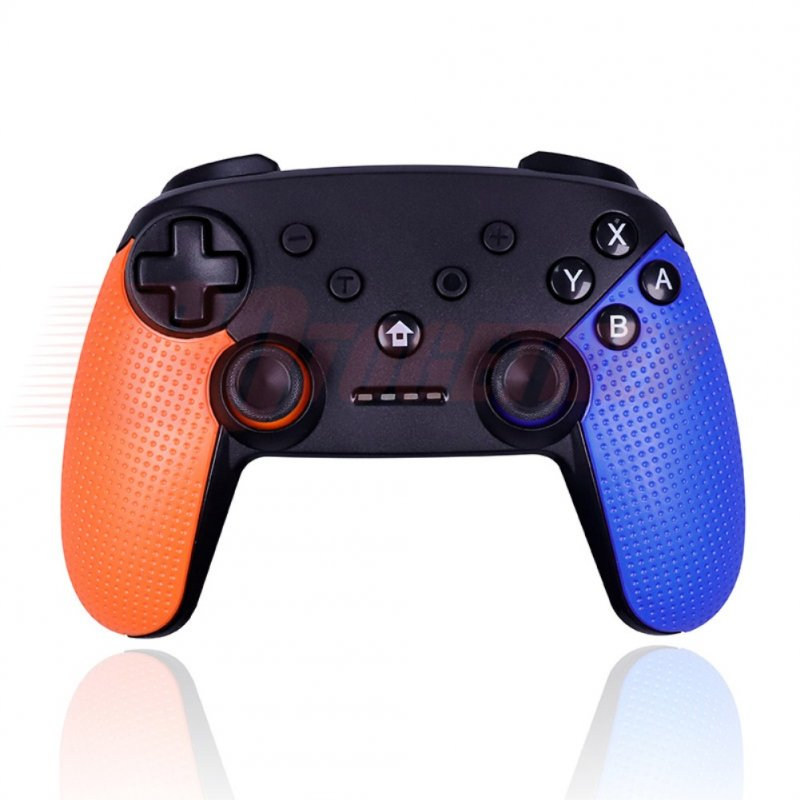 Switch Pro Wireless Bluetooth Game Hand Shank Left orange right blue