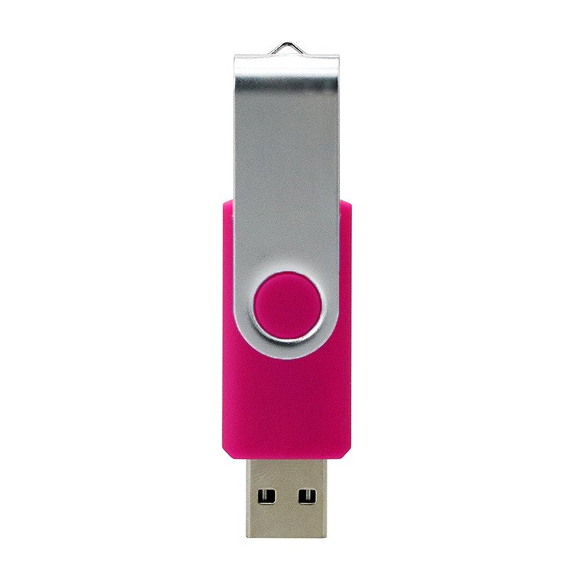 Swivel Usb 2 .0 1.0  Flash Drive Concise Portable U Disk L18 High Speed U Disk Pink_32G