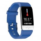 T1 <span style='color:#F7840C'>Smart</span> Bracelet Fitness Tracker Blood Oxygen Blood Pressure <span style='color:#F7840C'>Watches</span> Smartwatch Activity Tracker blue