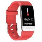 T1 <span style='color:#F7840C'>Smart</span> Bracelet Fitness Tracker Blood Oxygen Blood Pressure <span style='color:#F7840C'>Watches</span> Smartwatch Activity Tracker red