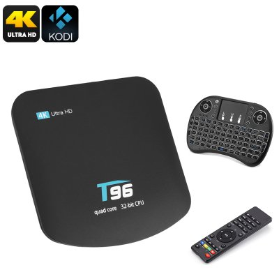T95 TV Box and Wireless Keyboard