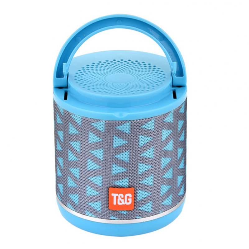 TG518 Bluetooth Speaker Phone Holder TWS Series FM Card Subwoofer Wireless Outdoor Portable Bluetooth Small Speaker Triangle gray green
