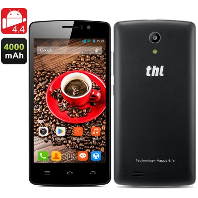 THL 4000 Quad Core Phone (Black)