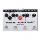 TONE BUS+POWER SUPPLY Electric Guitar Effector Combination Effector white