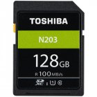 TOSHIBA N203 SD Card 128GB Memory Card U1 Class10 UHS I SDHC SDXC Storage Card Full HD For Digital Camera SLR 100MB s