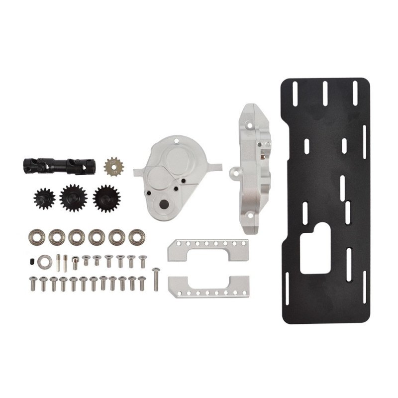 TRX4 G2 Front Motor Gearbox Kit for 1/10 Traxxas TRX-4 Defender Bronco Ford Upgrade Accessories default