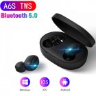 TWS Bluetooth 5.0 Earphones Charging Box Wireless Headphone Stereo Sports Earbuds Headsets With Microphone black