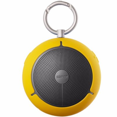 EDIFIER M100 Outdoor Mini Speaker Keychain Type Wireless Bluetooth Loudspeaker Portable Waterproof Music Player Support TF Memory Card yellow