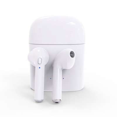 TWS I7 Mini Wireless Bluetooth Earphone White