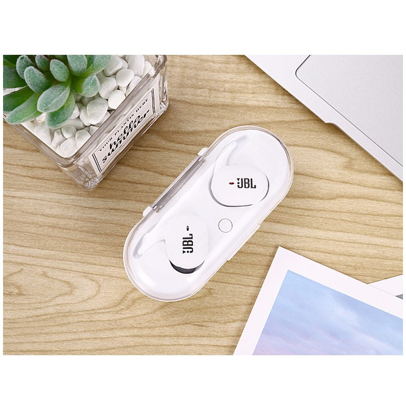 TWS4 Twins Wireless Earbuds Mini Bluetooth V5.0 Stereo Headset Earphone Universal for Smartphone with Bluetooth Function white