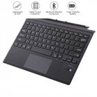 Tablet Bluetooth Wireless Magnetic Ergonomic Keyboard for Microsoft Surface pro3/4/5 Sucker screen