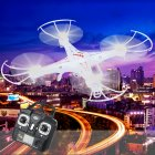 Take to the skies with the VAKI X5CQuadcopter with a 2MP HD camera and a handy remote control