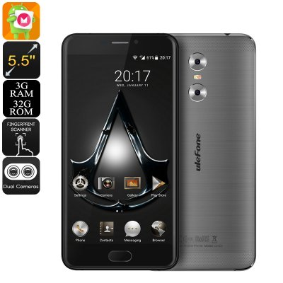 Ulefone Gemini Android Phone (Grey)