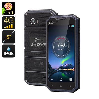 KEN XIN DA W7 Rugged Smartphone (Blue)