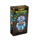 Tarot Illuminati Kit Cards Oracles Deck Card Electronic Guidebook Tarot Game Toy Tarot Divination E-Guide Book 78 sheets