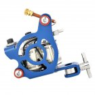 Tattoo Tattoo Machine Manual Machine Fog  Wrap Coil Tattoo Makeup Tool blue