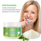 Teeth Whitening Powder Organic Teeth Whitening Powder Natural Tooth Health Care Oral Hygiene 50g
