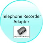 Telephone Recorder Adapter for CVJP G278 Digital Voice and Telephone Recorder